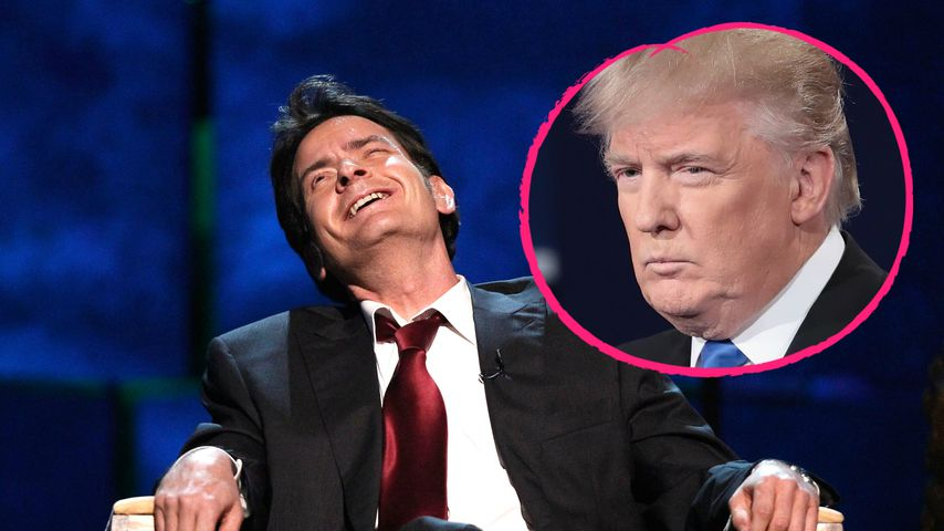 Nach Promisterben 2016: Charlie Sheen wünscht Trump den Tod!