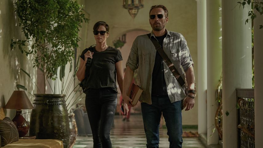 """Charlize Theron und Matthias Schoenaerts in """"The Old Guard"""""""