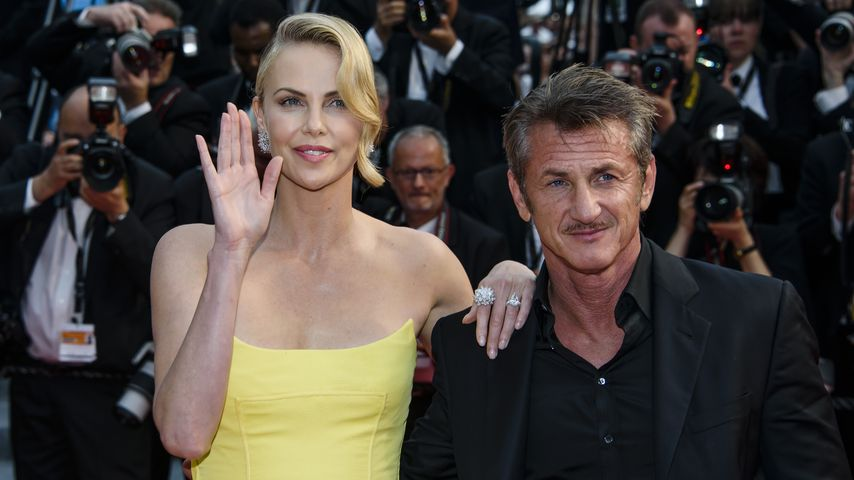 Charlize Theron und Sean Penn in Cannes 2015