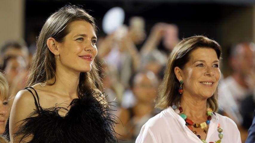 Charlotte Casiraghi und ihre Mutter Prinzessin Caroline von Hannover