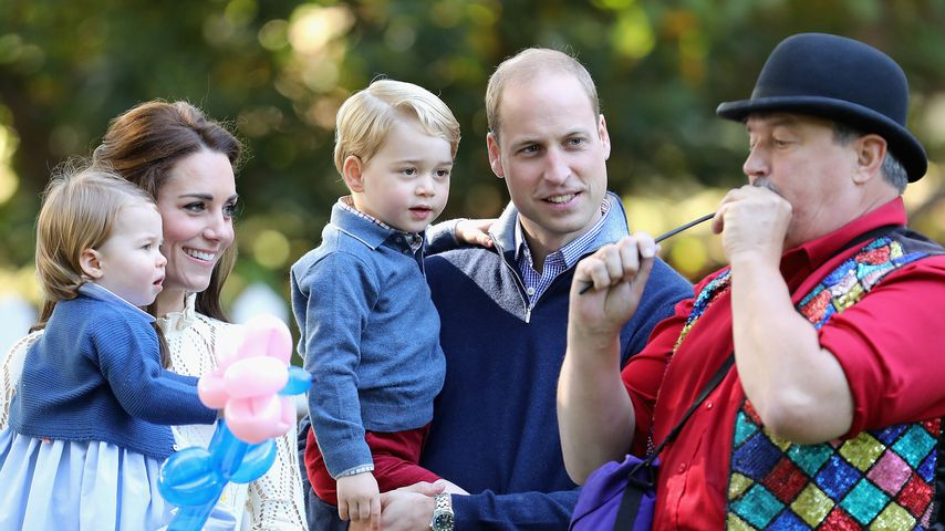 Prinzessin Charlotte, Herzogin Kate, Prinz George, Prinz William in Kanada, 2016