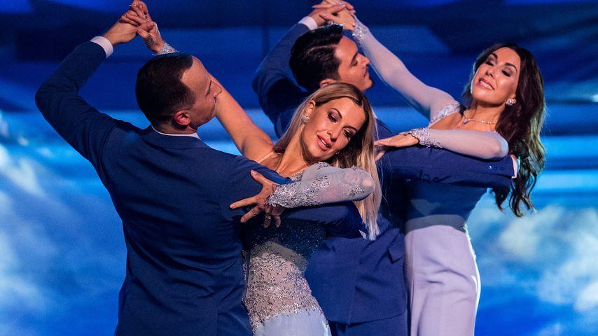 """Charlotte Würdig und Judith Williams mit ihren Tanzpartnern bei """"Let's Dance"""""""