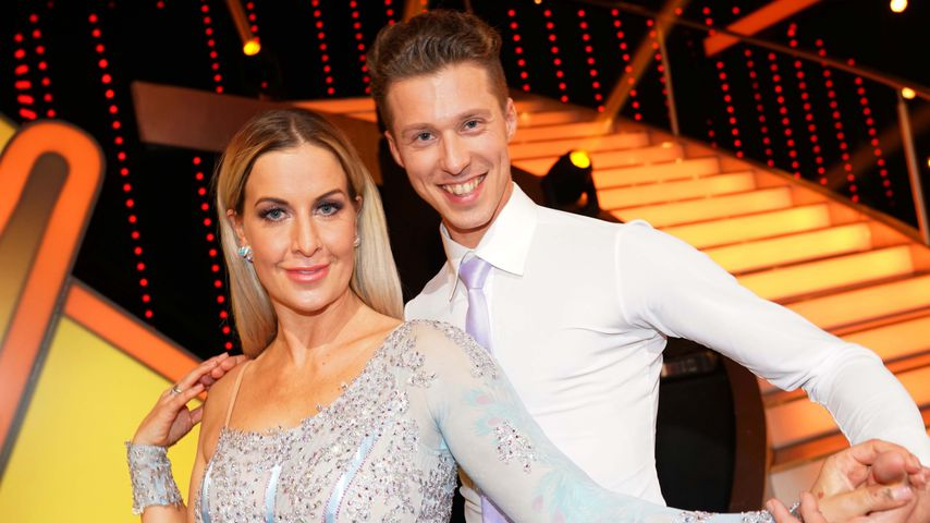 """Charlotte Würdig und Valentin Lusin in der """"Let's Dance""""-Kennenlernshow"""