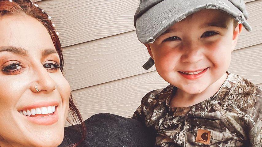 Chelsea Houska mit ihrem Sohn
