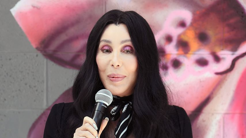 Cher für Joe Biden und Kamala Harris-Kampagne im Oktober 2020, Las Vegas