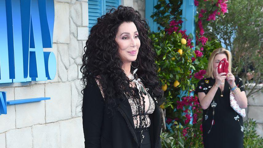"""Cher bei der Weltpremiere zu """"Mamma Mia! Here We Go Again"""""""