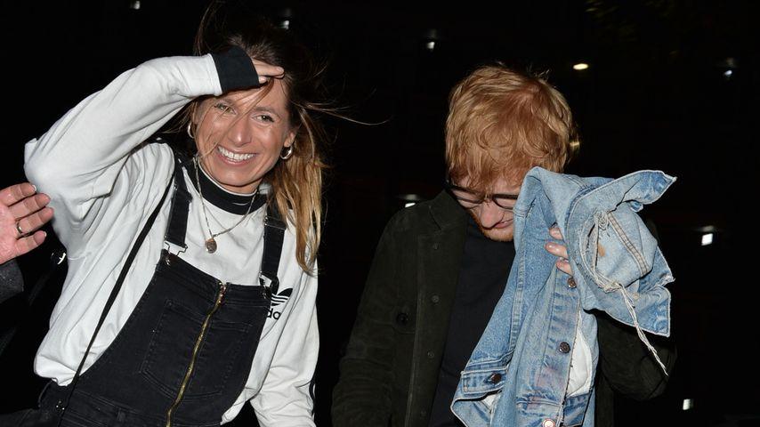 Cherry Seaborn und Ed Sheeran im November 2017