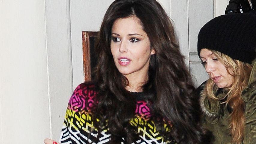 Cheryl Cole zeigt ihr lässiges Weihnachts-Outfit