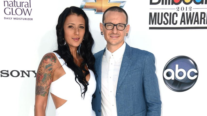 Chester Bennington mit Frau Talinda Ann Bentley bei den Billboard Music Awards 2012