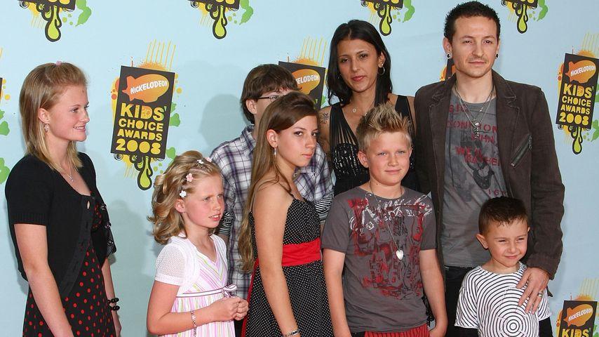 Chester Bennington, Talinda und Chesters sechs Kinder