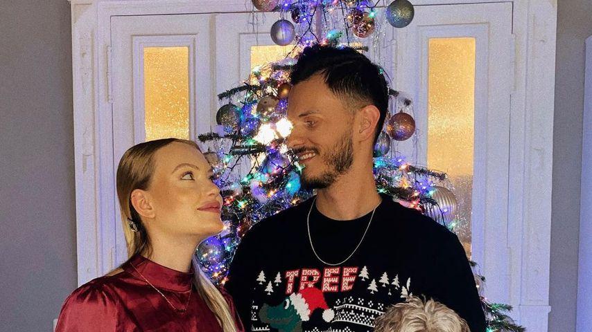 Cheyenne Ochsenknecht mit ihrem Freund Nino, Weihnachten 2020
