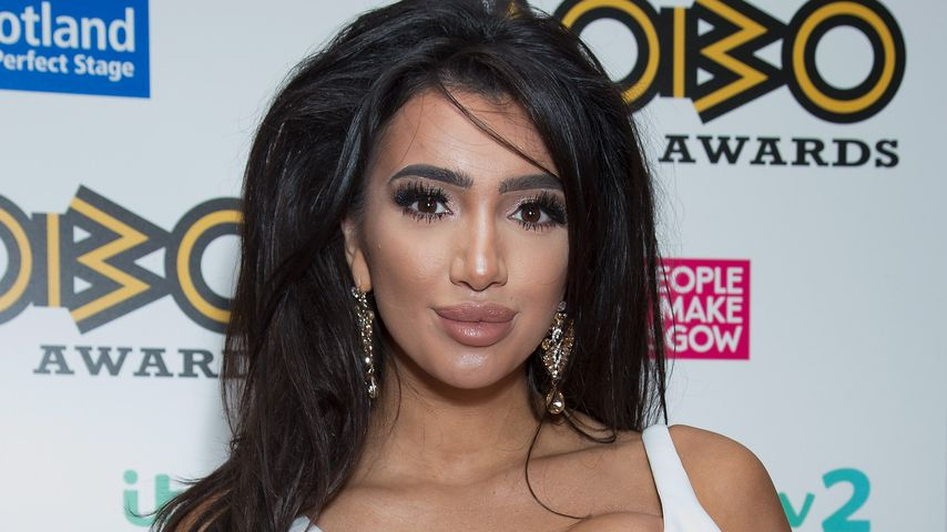 Chloe Khan bei den Mobo Awards 2016 in Glasgow
