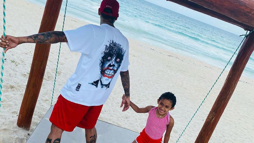 Chris Brown und Tochter Royalty Brown