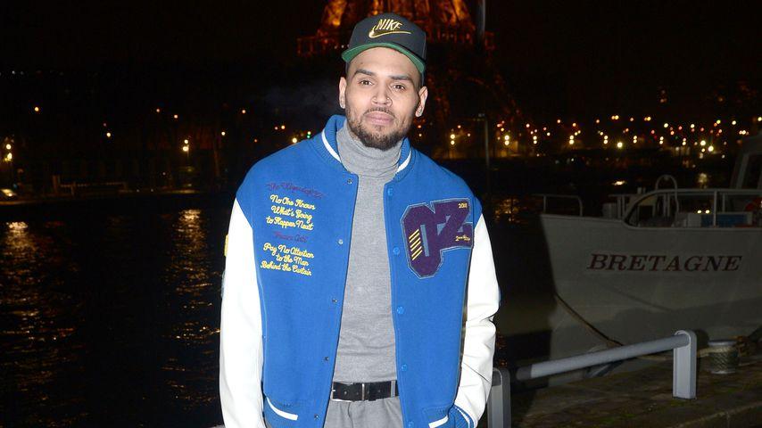 Chris Brown in Paris