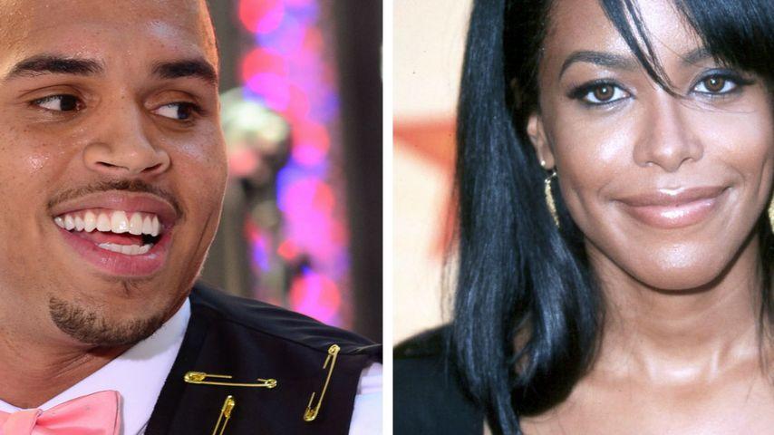 Neuer Clip: Chris Brown lässt Aaliyah auferstehen