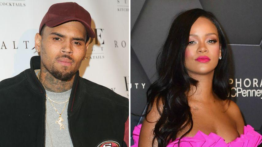Chris Brown überhäuft Ex Rihanna im Netz mit Komplimenten