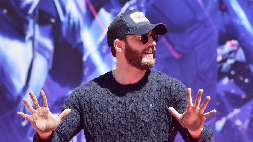 Chris Evans im April 2019 in Hollywood
