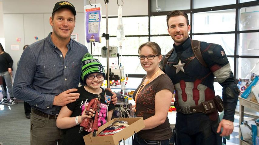 Chris Pratt und Chris Evans