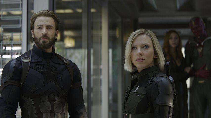 """Chris Evans und Scarlett Johansson in """"Avengers: Infinity War"""""""