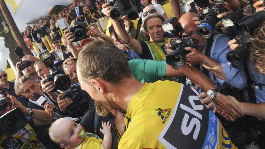 Chris Froome bei der Tour de France 2016 in Paris