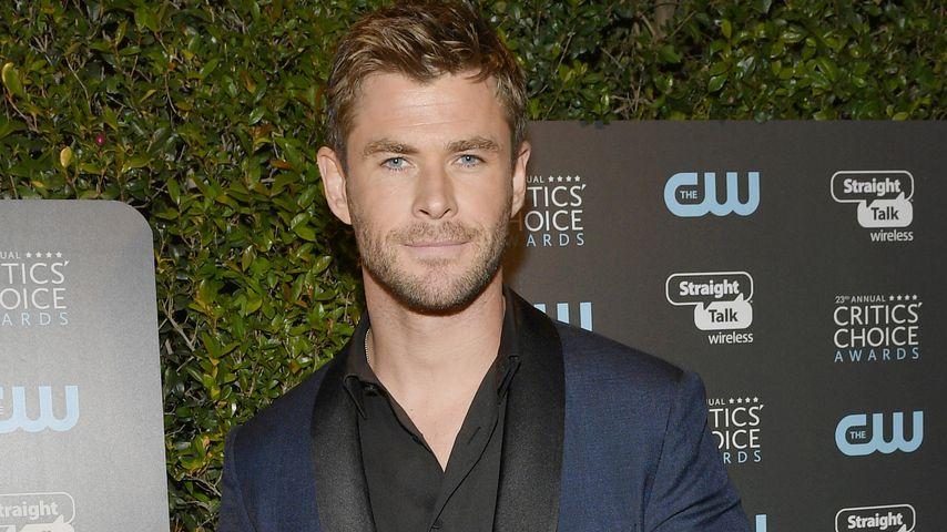 Chris Hemsworth bei den Critics' Choice Awards 2018