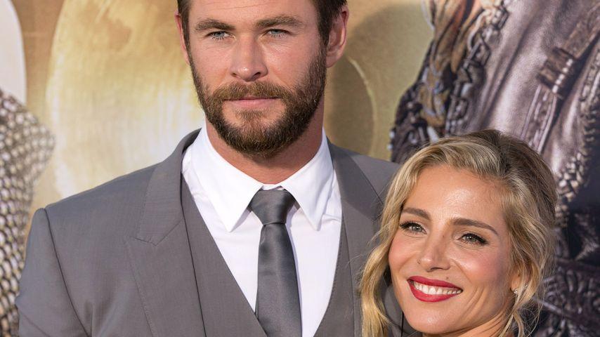 "Chris Hemsworth mit Ehefrau Elsa Pataky auf der ""The Huntsman: Winter's War""-Premiere in Los Angeles"