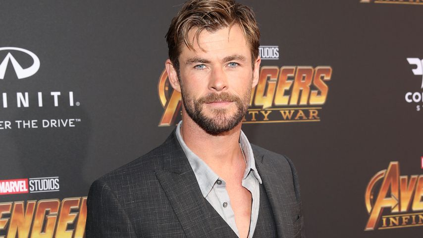 "Chris Hemsworth bei der ""Avengers: Infinity War""-Premiere 2018"