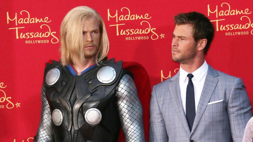 Verunglückt: Chris Hemsworth disst seine Wachsfigur