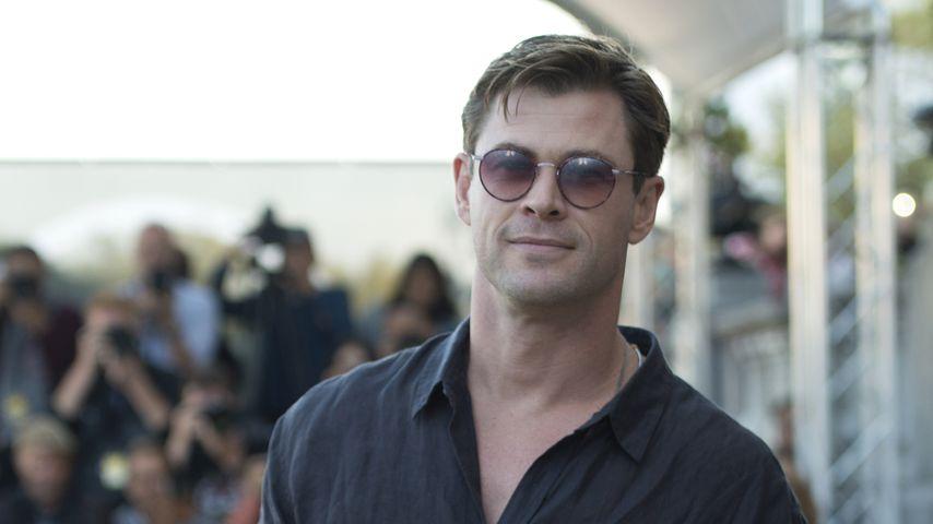 Chris Hemsworth beim San Sebastian Film Festival