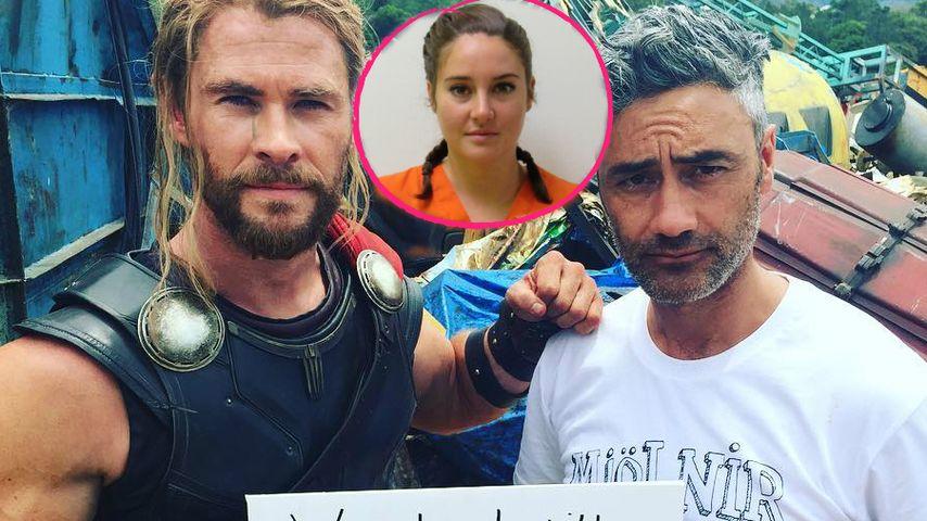 Promis gemeinsam stark: Chris Hemsworth unterstützt Shailene