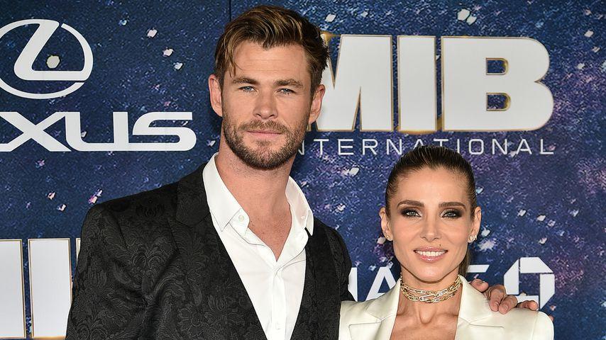 Chris Hemsworth und Elsa Pataky im Juni 2019