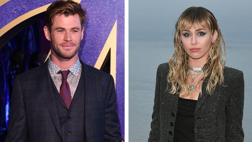 Nach Seitenhieb von Chris Hemsworth: Das denkt Miley Cyrus