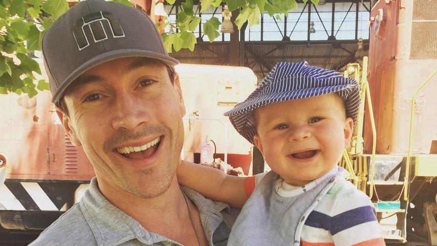Schauspieler Chris Klein und sein Sohn Frederick