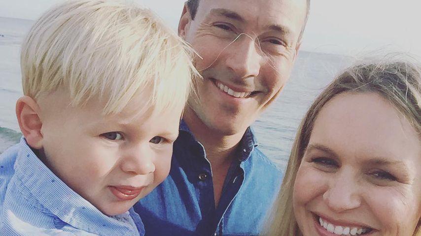 Chris und Laina Klein mit ihrem Sohn Frederick
