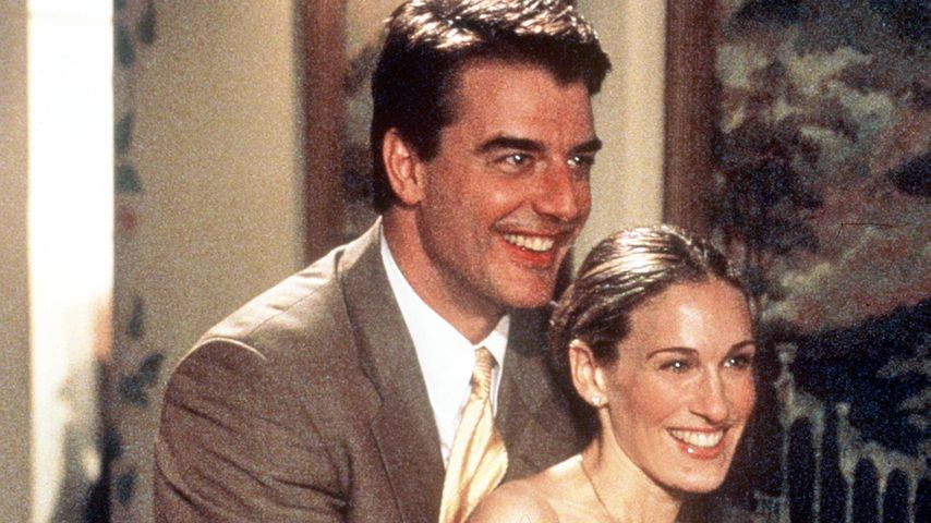 """Chris Noth und Sarah Jessica Parker in """"Sex and the City"""", 1999"""