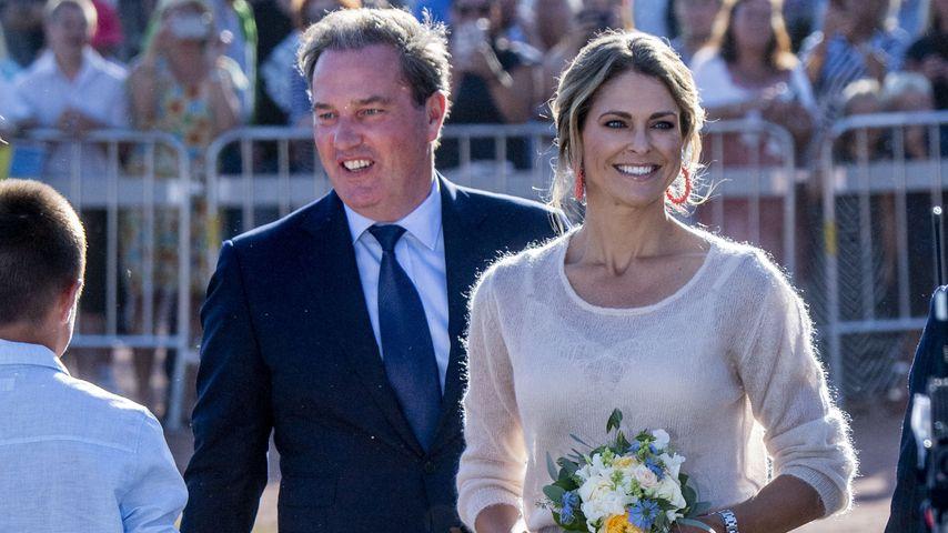 Chris O'Neill und Prinzessin Madeleine von Schweden im Jahr 2019