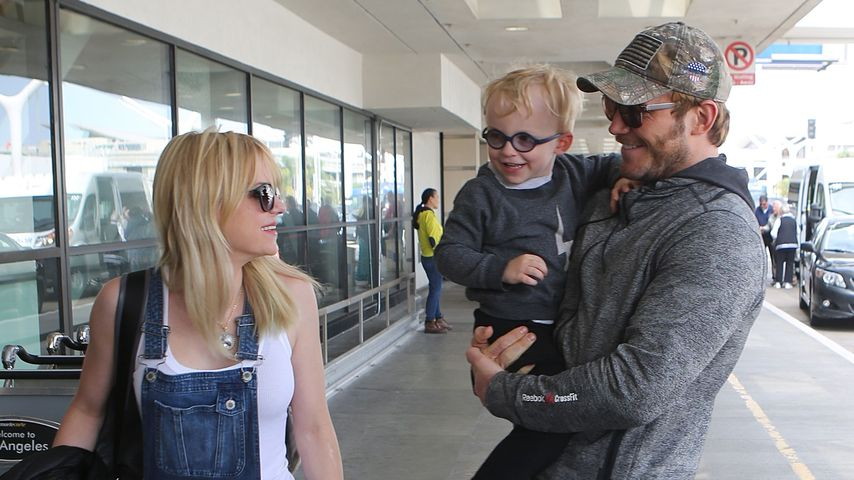 Chris Pratt, Anna Faris und Sohn Jack in Los Angeles