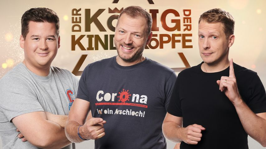 Chris Tall, Mario Barth und Oliver Pocher, Komiker
