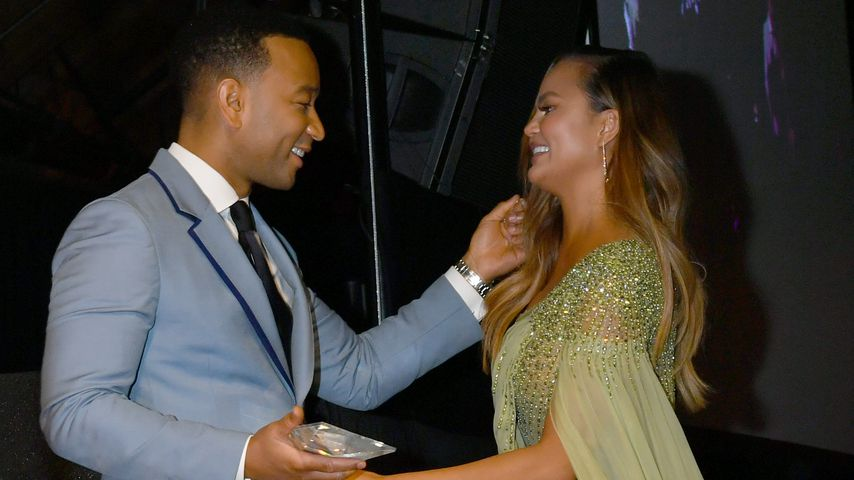 John Legend und Chrissy Teigen in Los Angeles im November 2019