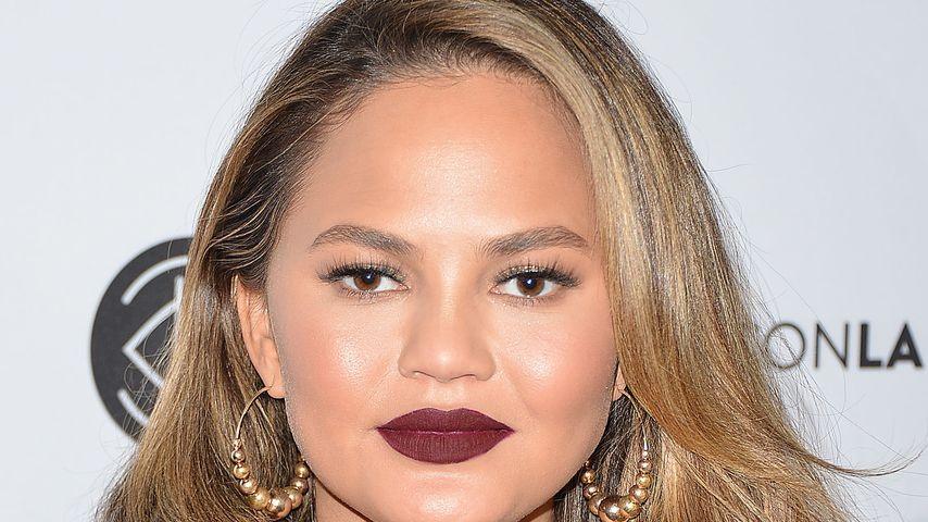 Model Chrissy Teigen auf der Beautycon in Los Angeles