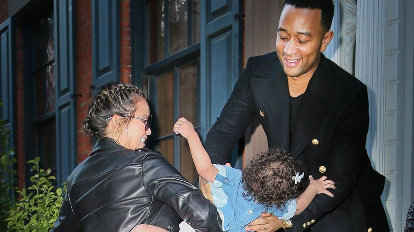 Papa-Kind: Luna will zu John Legend statt zu Mama Chrissy