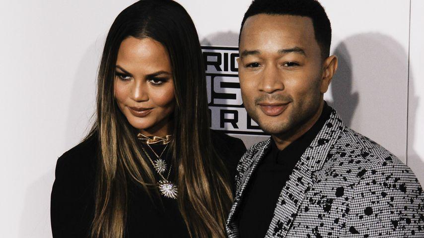 Ärger? John Legend reagiert auf Chrissys Leihmutter-Angebot