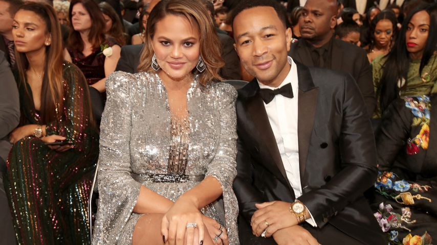 Chrissy Teigen und John Legend bei den Grammy Awards 2018