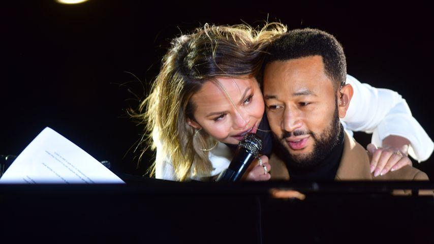 Chrissy Teigen und John Legend, 2020