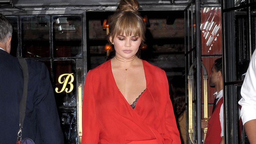 Chrissy Teigen vor dem The Bowery Hotel in New York