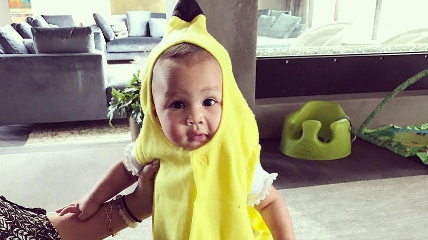 Chrissy Teigens Tochter Luna verkleidet als Banane