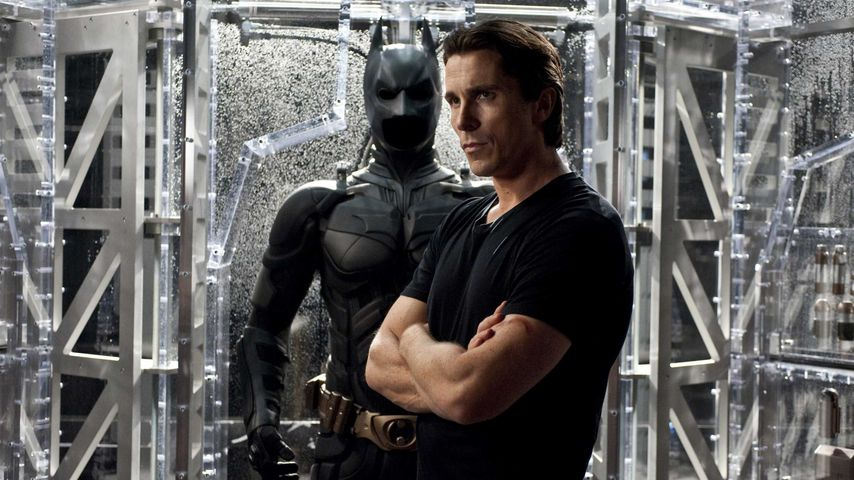 """Christian Bale in """"The Dark Knight Rises"""" (2012)"""