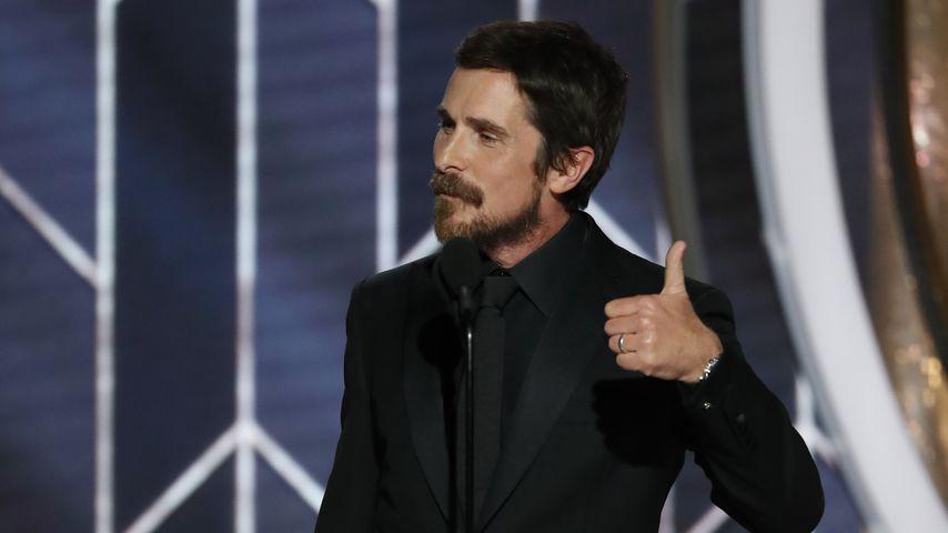 Christian Bale bei den Golden Globes 2019