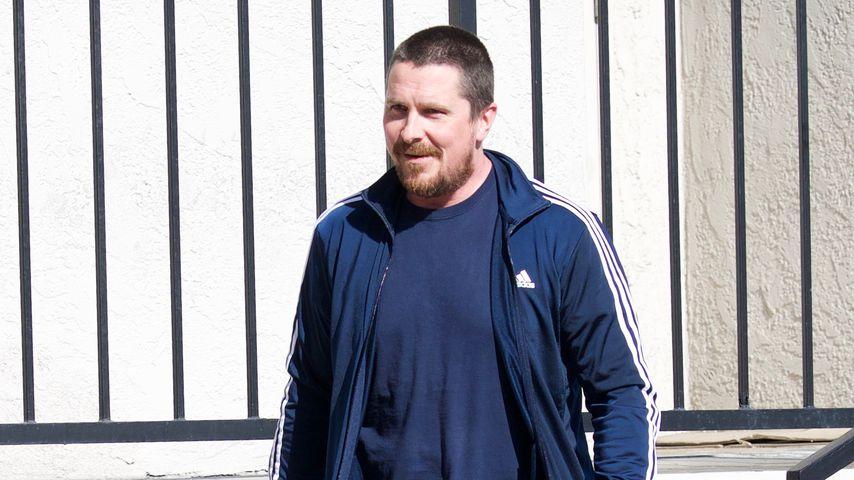 Für Film zugelegt: Christian Bale wird Extrakilo nicht los!