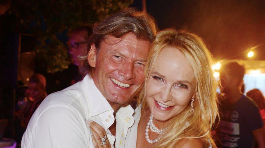 Christian Marek und Kristina Bach bei der Star Press Media Night auf Mallorca